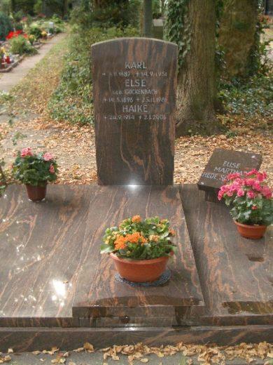 Beerdigungsdoppelgräber