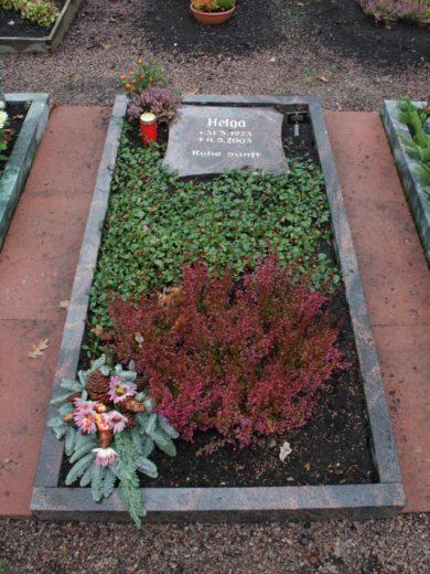 Beerdigungseinzelgräber